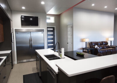 Gentry Kitchen/Living Area